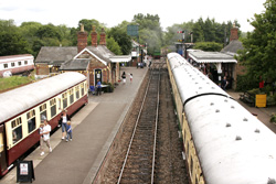 Colne Valley Railway Station