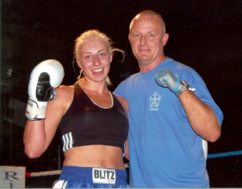 Chloe Wilson Top Essex Female Kickboxer