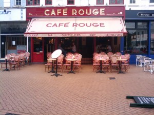Cafe Rouge, Chelmsford High Street / Moulsham Street