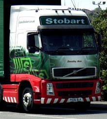 Eddie Stobart Trucks to Fly
