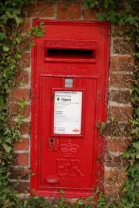 Postbox in Danbury, Essex