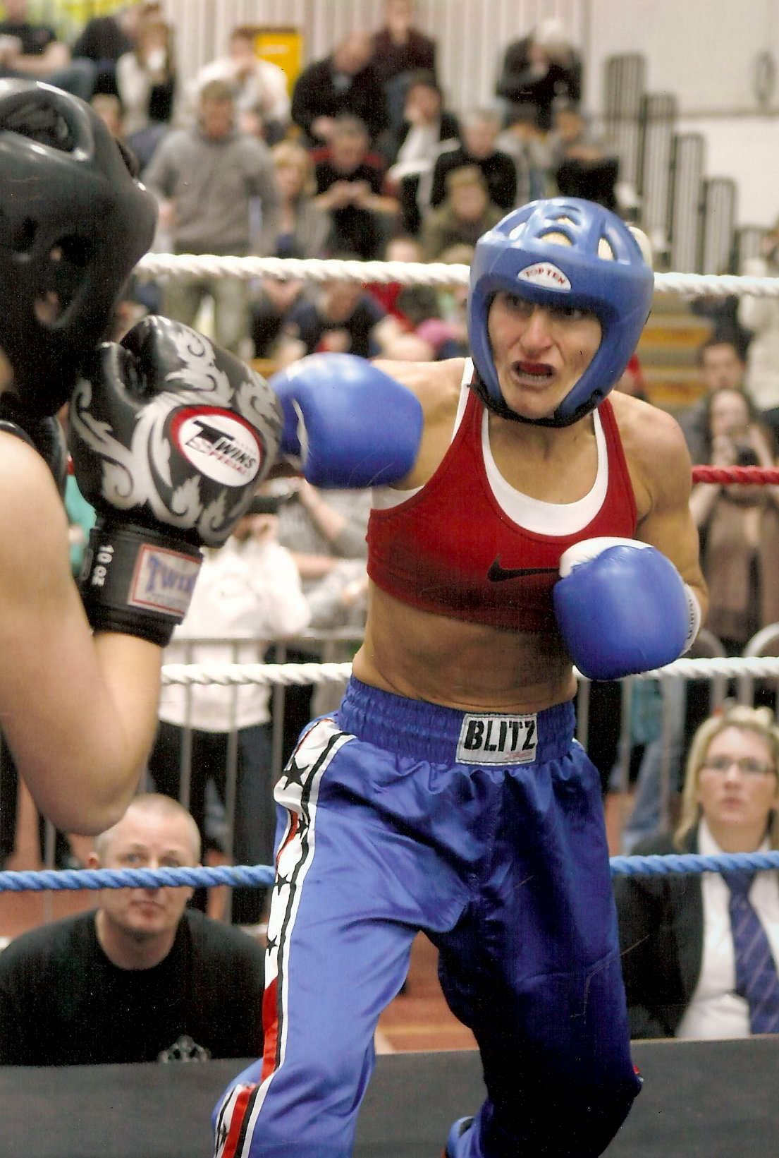 Helen Robinson-carey British WAKO Champion