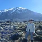 Kathryn Prosser and Kilimanjaro