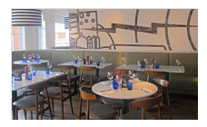Pizza express in Chelmsford, upstairs