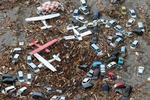 Japanese 2011 tsunami damage
