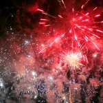 Essex fireworks display on bonfire night