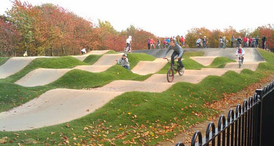 The Great Baddow BMX track