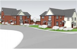 Artist Impression of the New Homes