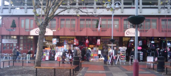 Chelmsford market square