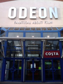 The Odeon Cinema in Chelmsford