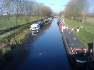Boats of Sandford Lock, Chelmsford