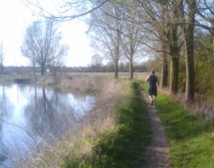 Blackwater - a nice spot for running, cycling, walking or fishing
