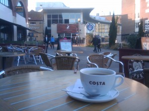 Journey's End - Coffee at Costa