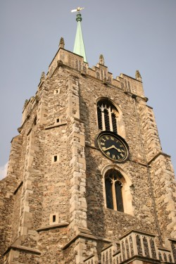Chelmsford Cathedral in the centre of Chelmsford City