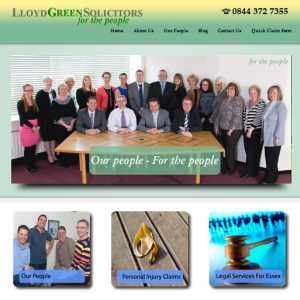 The For the People Team at Lloyd Green Solicitors