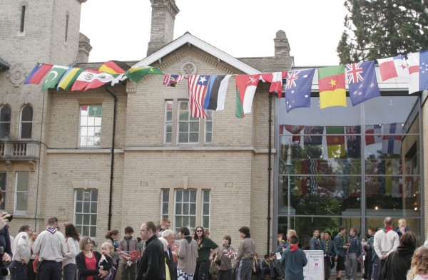 Flags Flying at the Chelmsford Museum