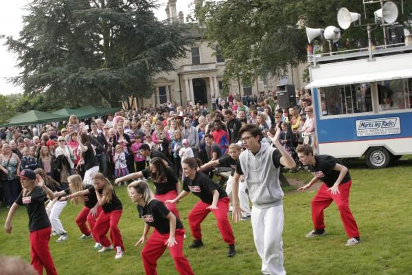 Street Dance in Chelmsford - Olympic Torch Fair