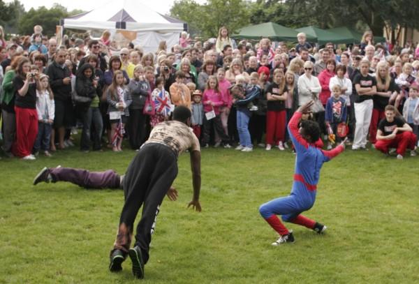 Spiderman Defeats the Baddies