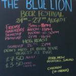 Blue Lion beer festival