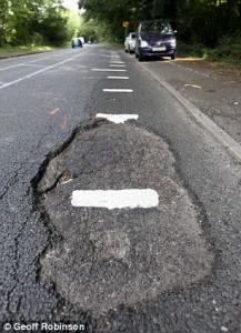 Brentwood Pothole
