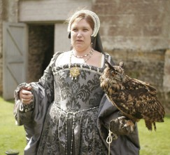 Medieval Lady with Owl