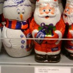 Coop Father Christmas and Snowmen chocolates