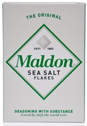 Maldon Salt's Desert Island Dishes