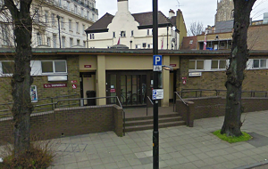 Chelmsford's Market Road Toilets with Lime Trees