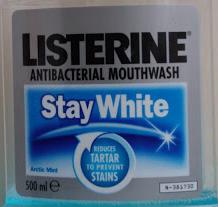 Listerine stolen
