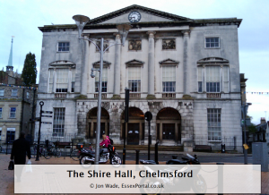 The Shire Hall in Chelmsford