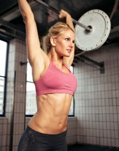 Woman Lifting Weight