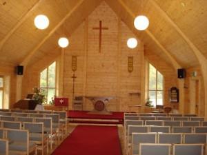 Daws Heath Church - Interior