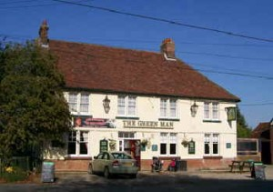 The Green Man in Toppesfield