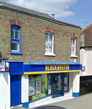 Blockbuster on Newland Street in Witham