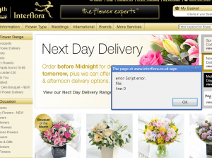 Interflora Dropped From The Internet – But Essex Florists Still Appear