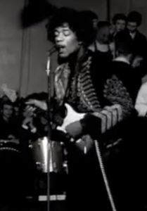 Jimi Hendrix at the Chelmsford Corn Exchange 2