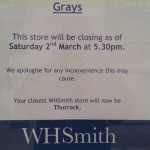 WHSmith In Grays