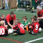Blind football taster session