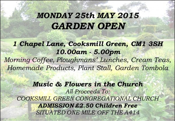 Cooksmill Church open day