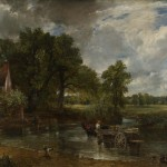 Essex roads have been flooded for centuries, as shown in John Constable's The Hay Wain.