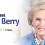 Mary Berry at the Flower Show