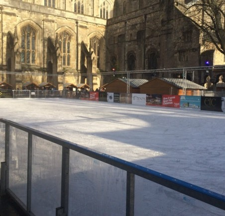 Colchester Castle ice rink