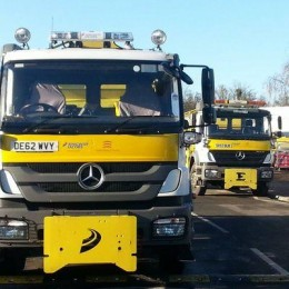 Essex Gritter lorry