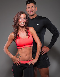Shane Haron and Raychal, Essex Personal Trainer