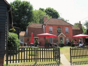 The Prince of Wales, Inworth