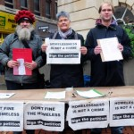 Streets Kitchen - Chelmsford protest
