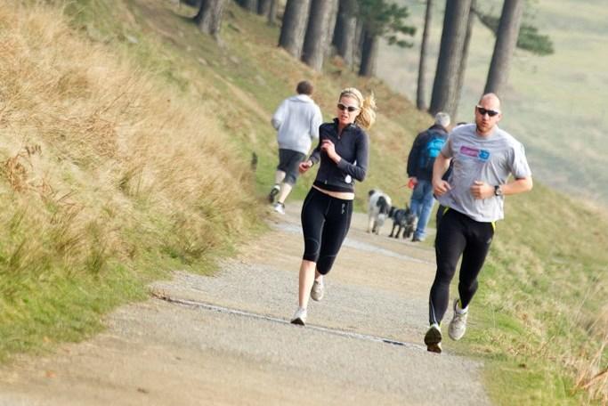 Running in Rainham Marhses