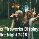 Fireworks in Essex