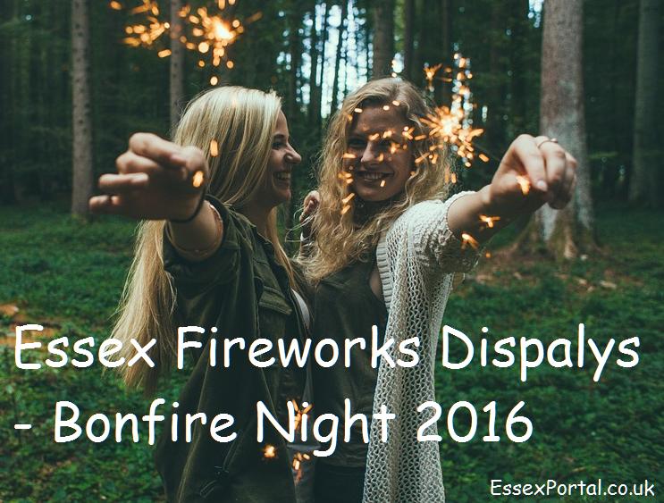 Essex fireworks displays 2016