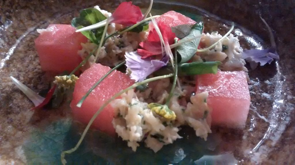 Andy Walker's Watermelon and Crab